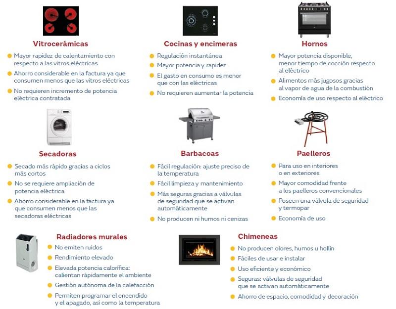 GASODOMESTICOS, aparatos a gas natural