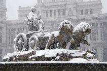 Madrid nevado, confort con gas natural