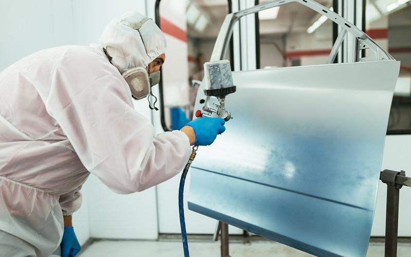 Taller pintura con gas natural 800